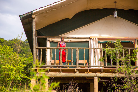 Mara Engai Wilderness Lodge Kenya